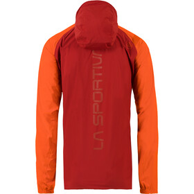 La Sportiva Run Jacket Herren chili/pumpkin